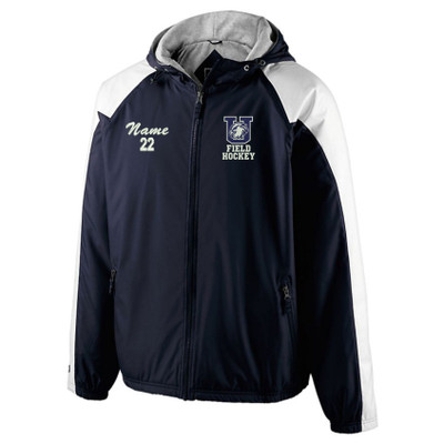 Urbana FIELD HOCKEY Jacket Holloway Homefield Hooded Windbreaker Personalization Available Sz S-3XL with NAME and Number PERSONALIZATION