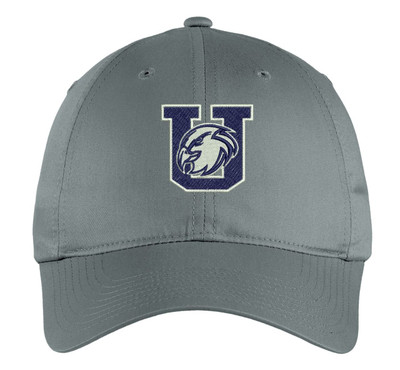 Urbana Hawks Nike Embroidered Baseball Hat DARK GREY