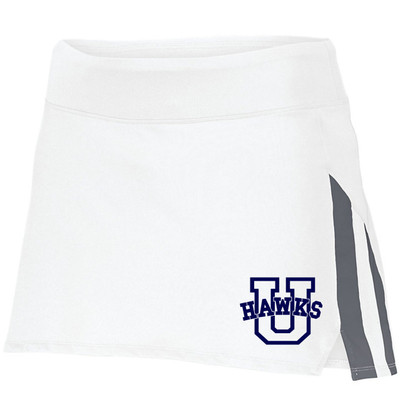 Urbana Hawks Skort Ladies Navy or White Colors Available S-2XL