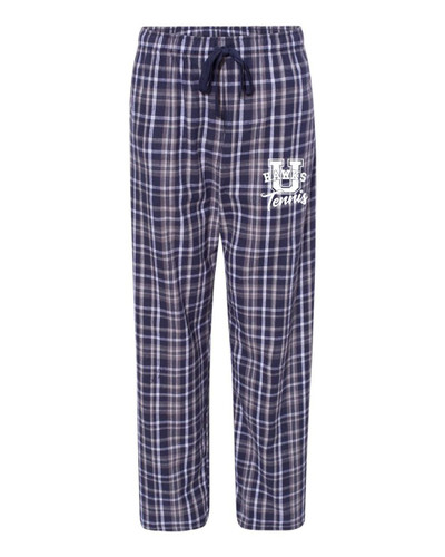 Urbana Hawks Flannel Lounge Pants with Pockets TENNIS Boxercraft Unisex Sizes ADULT NAVY WHITE Size S-2XL