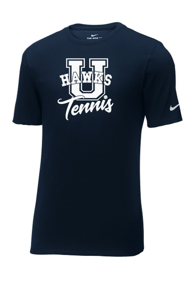 UHS Urbana Hawks TENNIS T-shirt Cotton U Many Colors Available T-shirt NIKE Size S-3XL NAVY