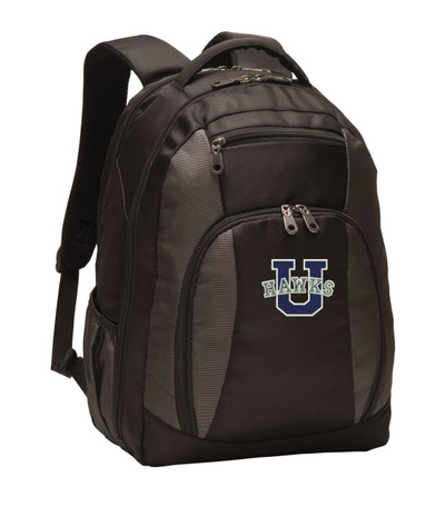 UHS Urbana Hawks Personalized Embroidered Backpack Free NAME Monogramming-NO NAME MONOGRAMMED