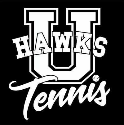 Urbana Hawks Vinyl Decal TENNIS U Car Truck Mirror Wall Laptop Tablet Thermos