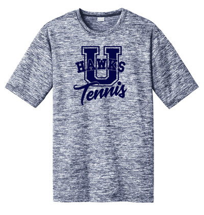 UHS Urbana Hawks TENNIS T-shirt Performance U PosiCharge Electric Shirt Many Colors Available Sizes XS-4XL TRUE NAVY ELECTRIC