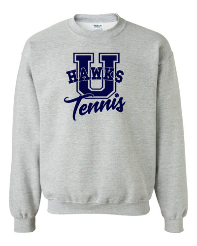 UHS Urbana Hawks TENNIS Cotton Crewneck Sweatshirt U Many Colors Available Size S-3XL  SPORTS GREY