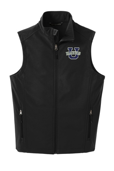 Urbana Hawks Softshell UHS U VEST Jacket UNISEX Many Colors Available Size XS-4XL  BLACK