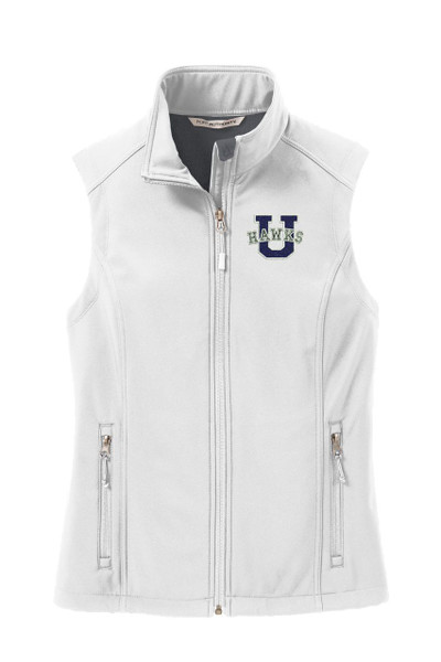 Urbana Hawks Softshell UHS U VEST Jacket LADIES Many Colors Available Size XS-4XL MARSHMALLOW