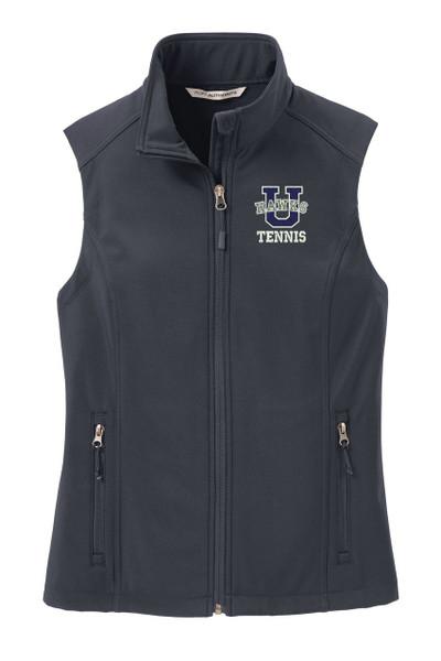 Urbana Hawks Softshell UHS TENNIS U VEST Jacket LADIES Many Colors Available Size XS-4XL BATTLESHIP GREY