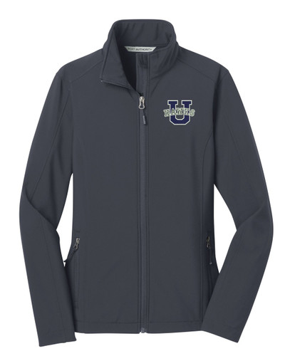 Urbana Hawks Softshell Jacket  Colors Navy or Grey Available LADIES SZ S-3XL BATTLESHIP GREY