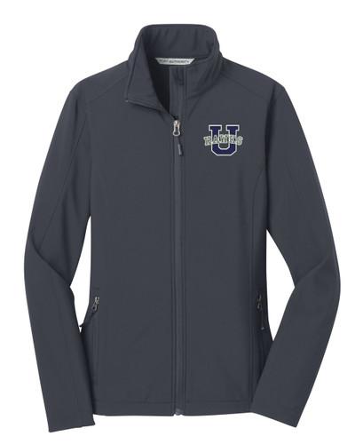 Urbana Hawks Softshell Jacket  Colors Navy or Grey Available LADIES SZ S-3XL BATTLESHIP GREY