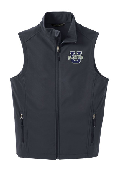 Urbana Hawks Softshell U VEST Jacket UNISEX Many Colors Available Size XS-4XL  BATTLESHIP GREY