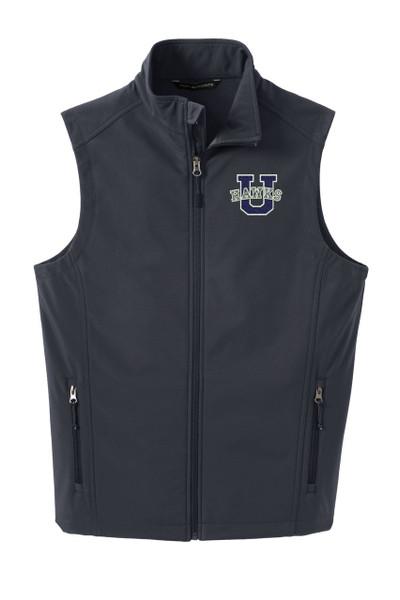 Urbana Hawks Softshell U VEST Jacket UNISEX Many Colors Available Size XS-4XL  BATTLESHIP GREY