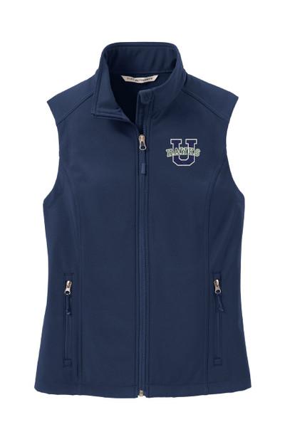 Urbana Hawks Softshell U VEST Jacket UNISEX Many Colors Available Size  LADIES XS-4XL DRESS BLUE NAVY