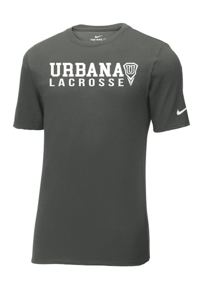 Urbana Hawks LACROSSE T-shirt Cotton Many Colors Available T-shirt NIKE Size S-3XL ANTHRACITE