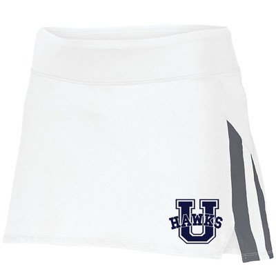 Urbana Hawks Skort Ladies Navy or White Colors Available LADIES S-2XL