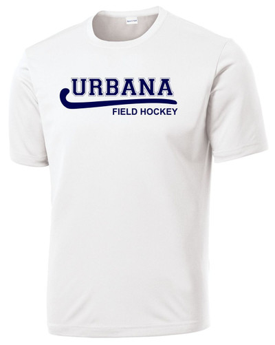 Urbana Hawks FIELD HOCKEY T-shirt Performance Many Colors Available  WHITE