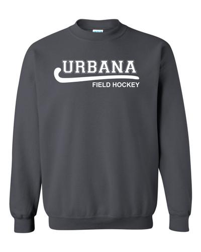 Urbana Hawks FIELD HOCKEY Cotton Crewneck Sweatshirt Many Colors Available Size S-3XL CHARCOAL