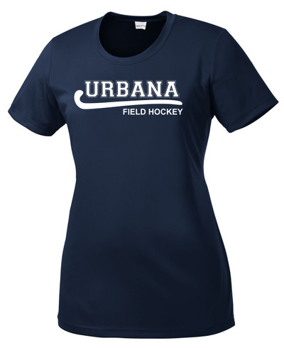 Urbana Hawks FIELD HOCKEY T-shirt Performance Posi Charge Competitor Many Colors Available LADIES SZ XS-4XL NAVY