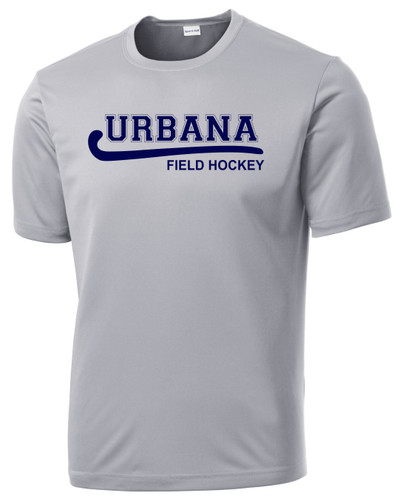 Urbana Hawks FIELD HOCKEY T-shirt Performance Posi Charge Competitor Many Colors Available SZ XS-4XL SILVER
