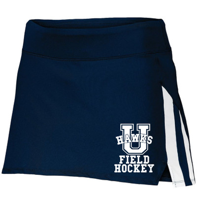 Urbana Hawks Skort FIELD HOCKEY Ladies Navy or White Colors Available SIZES S-2XL NAVY/WHITE