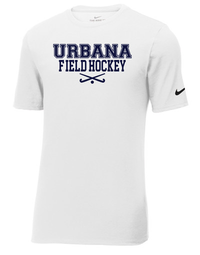Urbana FIELD HOCKEY Sticks T-shirt NIKE Cotton Many Colors Available Sz S-3XL WHITE