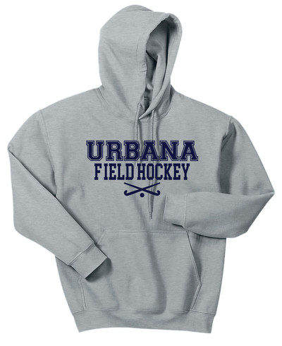 Urbana FIELD HOCKEY Sticks Cotton Hoodie Sweatshirt Many Colors Available SZ S-3XL  SPORTS GREY