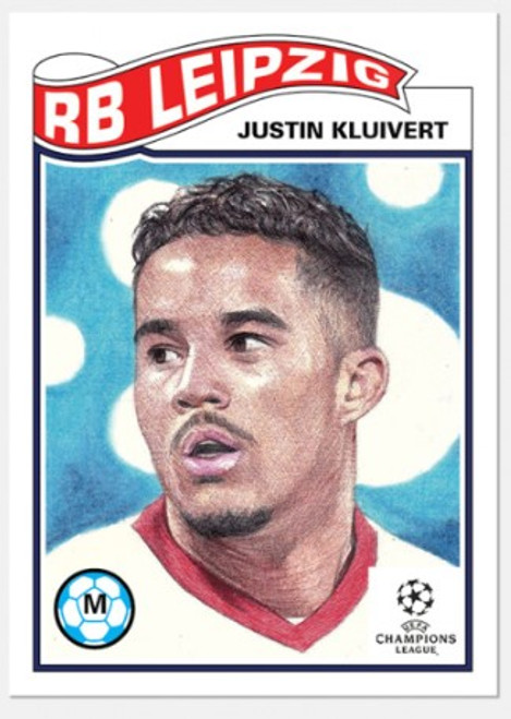 Topps Living Set - UCL - Card #273 - Justin Kluivert (pre-sale)