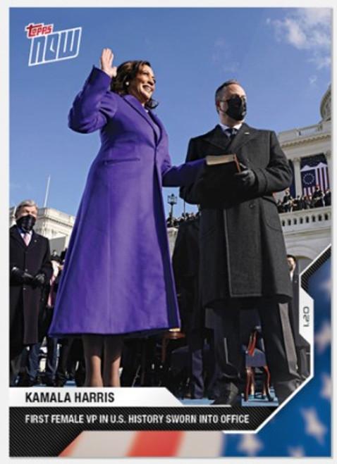 2020 USA Election Topps NOW - Card 13 - Kamala Harris (PRE-SALE)