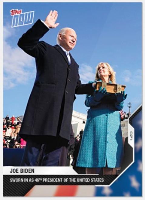 2020 USA Election Topps NOW - Card 14 -Joe Biden (PRE-SALE)
