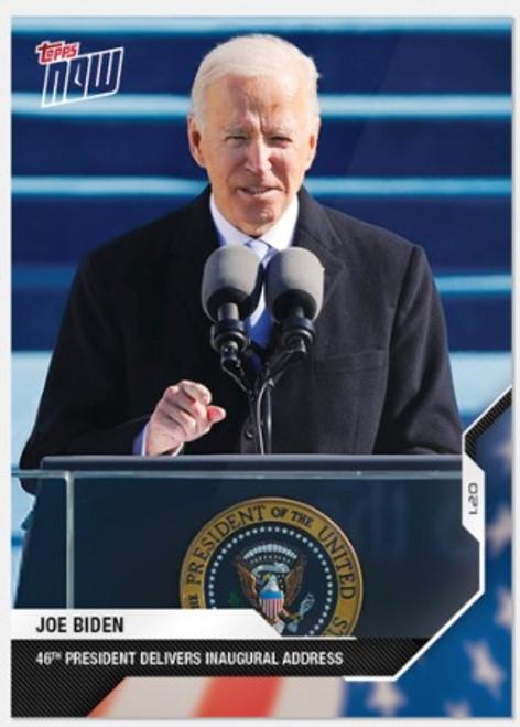 2020 USA Election Topps NOW - Card 15 -Joe Biden (PRE-SALE)