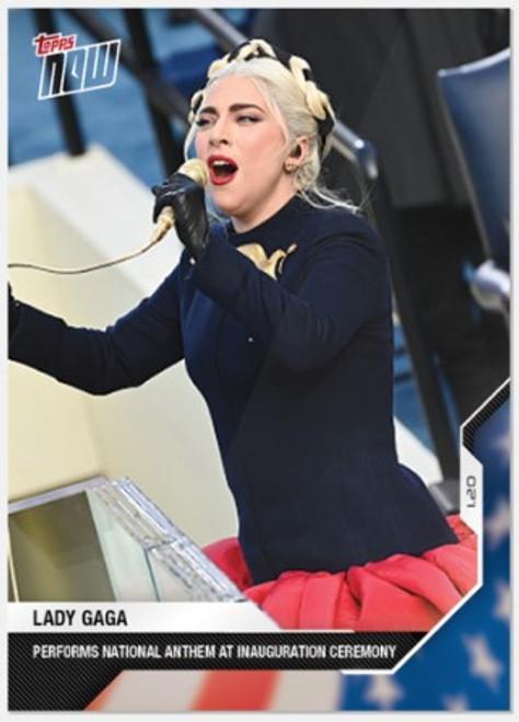 2020 USA Election Topps NOW - Card 17 -Lady Gaga (PRE-SALE)