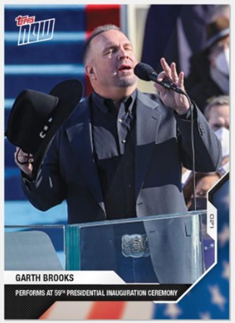 2020 USA Election Topps NOW - Card 19 -Garth Brooks (PRE-SALE)