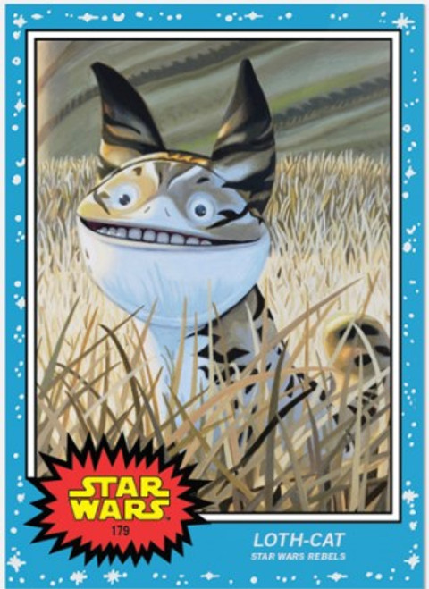 Topps Living Set - Star Wars - Card #179 - Loth-cat (pre-sale)
