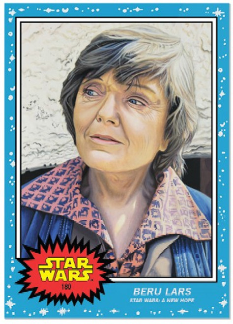 Topps Living Set - Star Wars - Card #180 - Beru Lars (pre-sale)
