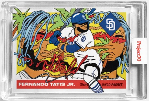 Topps Project 70 Fernando Tatis Jr. #2 by Ermsy(PRE-SALE)