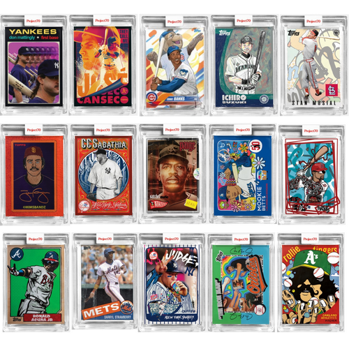 Topps Project 70 - 15 Card Bundle - Cards 46-60 (Pre-Sale)
