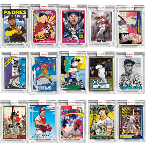 Topps Project 70 - 15 Card Bundle - Cards 61-75 (Pre-Sale)