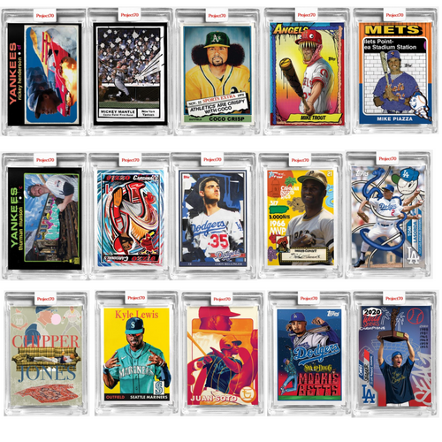 Topps Project 70 - 15 Card Bundle - Cards 76-90 (Pre-Sale)
