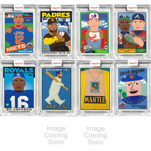 Topps Project 70 -Keith Shore Complete 20-Card Artist Set (Pre-Sale)