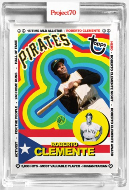 Topps Project 70 Roberto Clemente #18 by Sean Wotherspoon (PRE-SALE)