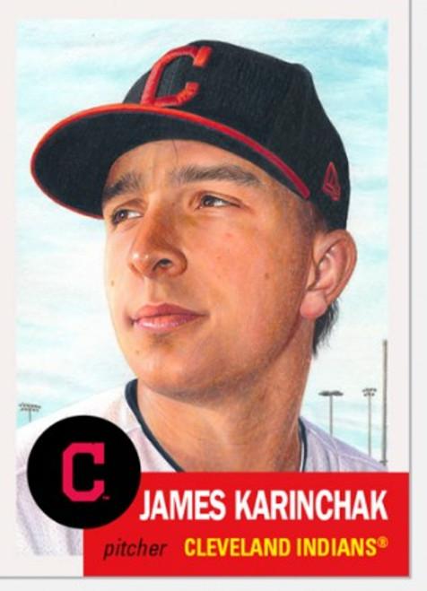 Topps Living Set - Card #392 -James Karinchak (pre-sale)