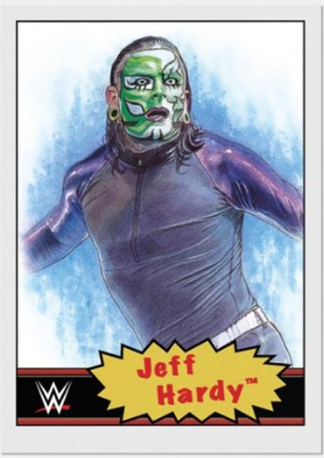 Topps Living Set - WWE - Card #9 -Jeff Hardy (pre-sale)