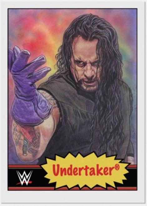 Topps Living Set - WWE - Card #10 - Undertaker (pre-sale)
