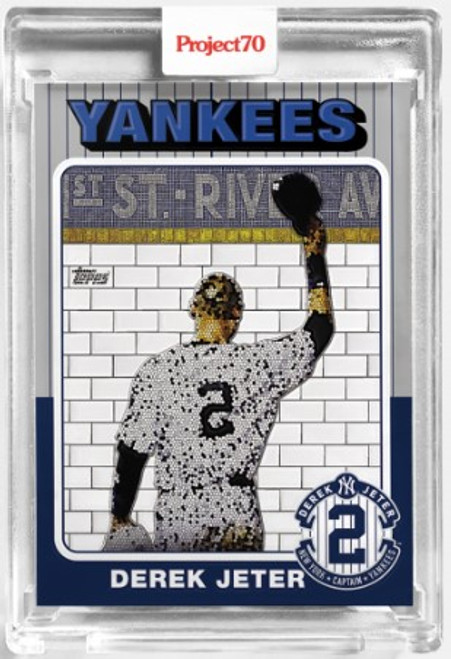 Topps Project 70 Derek Jeter #29 by Jeff Staple (PRE-SALE)