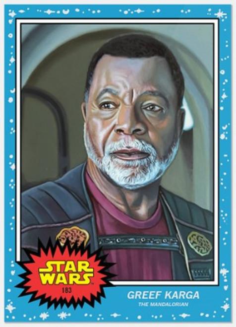 Topps Living Set - Star Wars - Card #183 - Greef Karga (pre-sale)