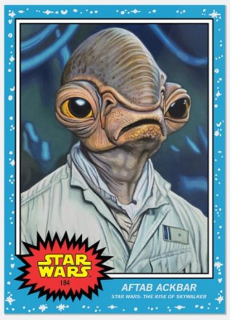 Topps Living Set - Star Wars - Card #184 - Aftab Ackbar (pre-sale)