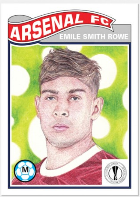 Topps Living Set - UCL - Card #290 - Emile Smith Rowe (pre-sale)