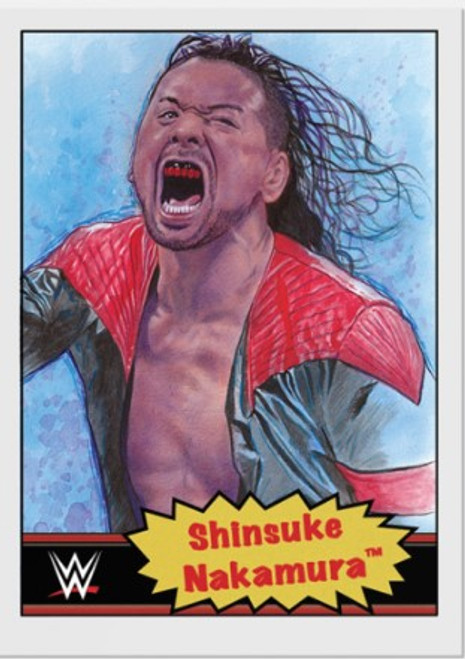 Topps Living Set - WWE - Card #11 - Shinsuke Nakamura (pre-sale)