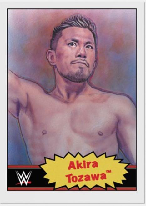 Topps Living Set - WWE - Card #12 - Akira Tozawa (pre-sale)