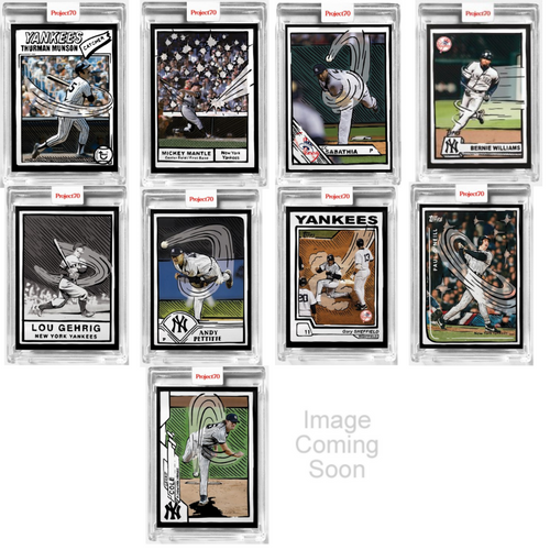 Topps Project 70 Joshua Vides Complete 20-Card Artist Set (Pre-Sale)